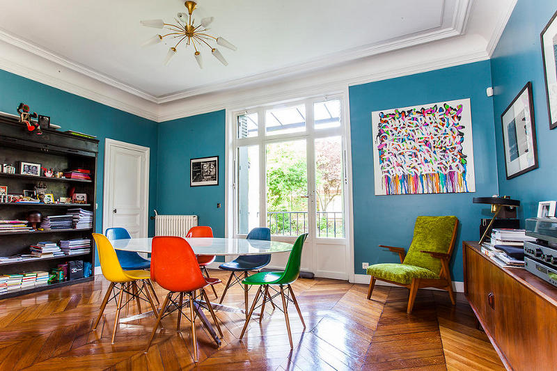 A colourful family home in Fontenay-sous-Bois