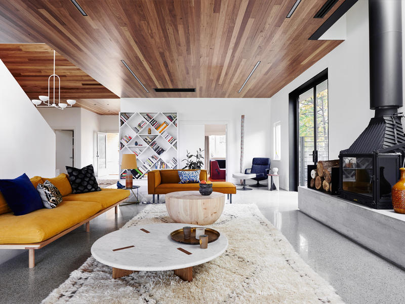 A modern addition to a deco home  desire to inspire