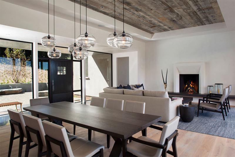 A modern farmhouse desire to inspire for Modern great room designs