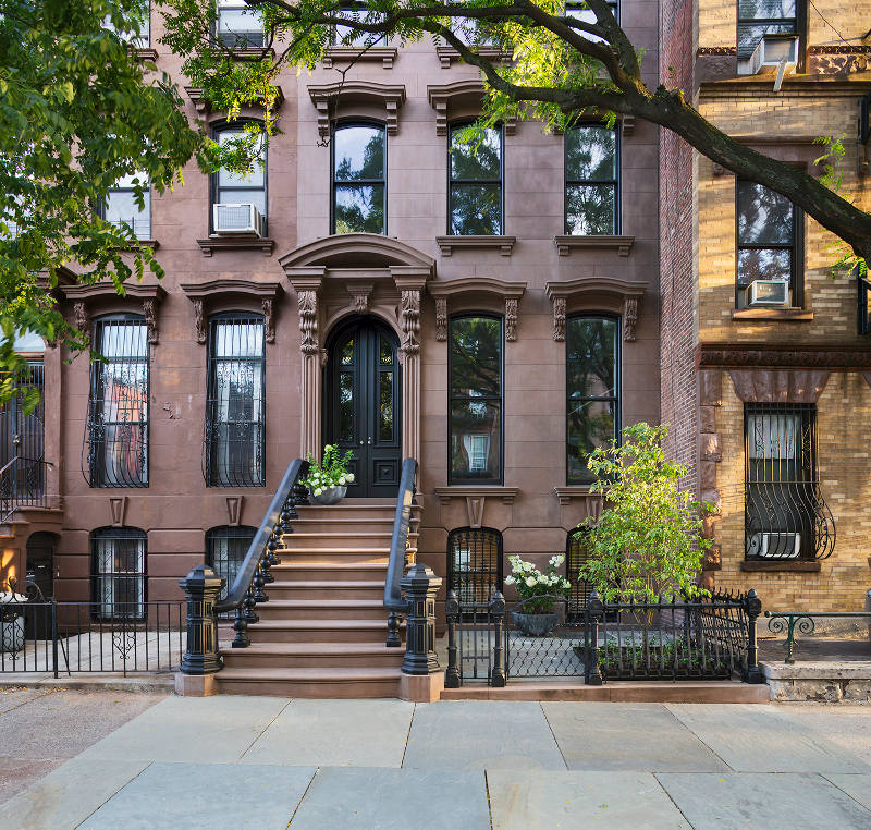 Prospect heights brownstone desire to inspire for Building sans fenetre new york