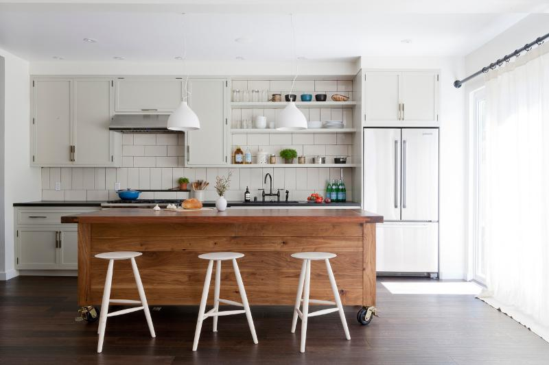 Kitchen Island Bench On Wheels rollin', rollin', rollin' - desire to inspire - desiretoinspire
