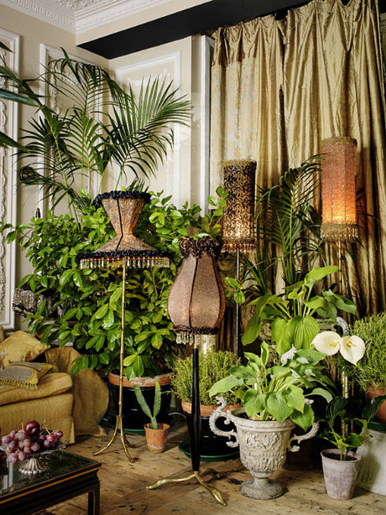Living Room Jungle living in the jungle - desire to inspire - desiretoinspire