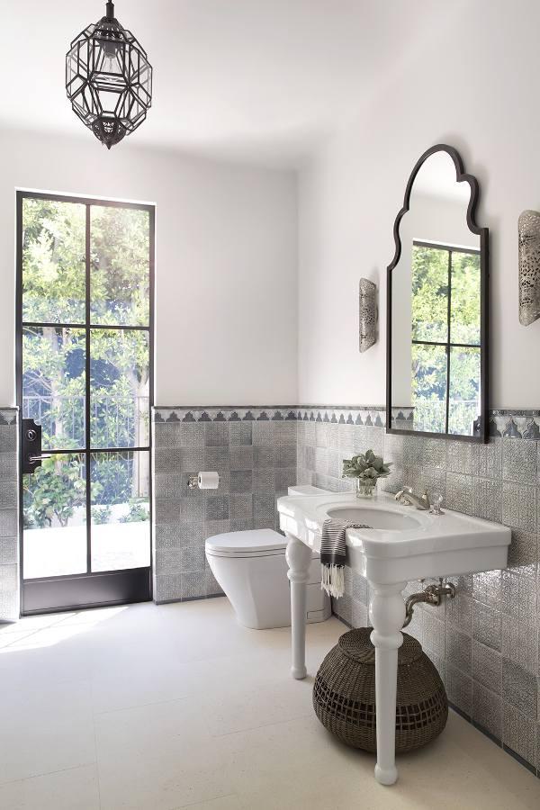 fascinating moroccan style bathroom | A serene exuberance - desire to inspire - desiretoinspire.net