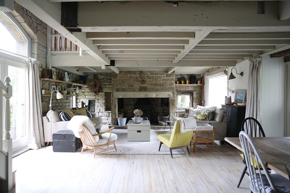 A barn conversion in Yorkshire