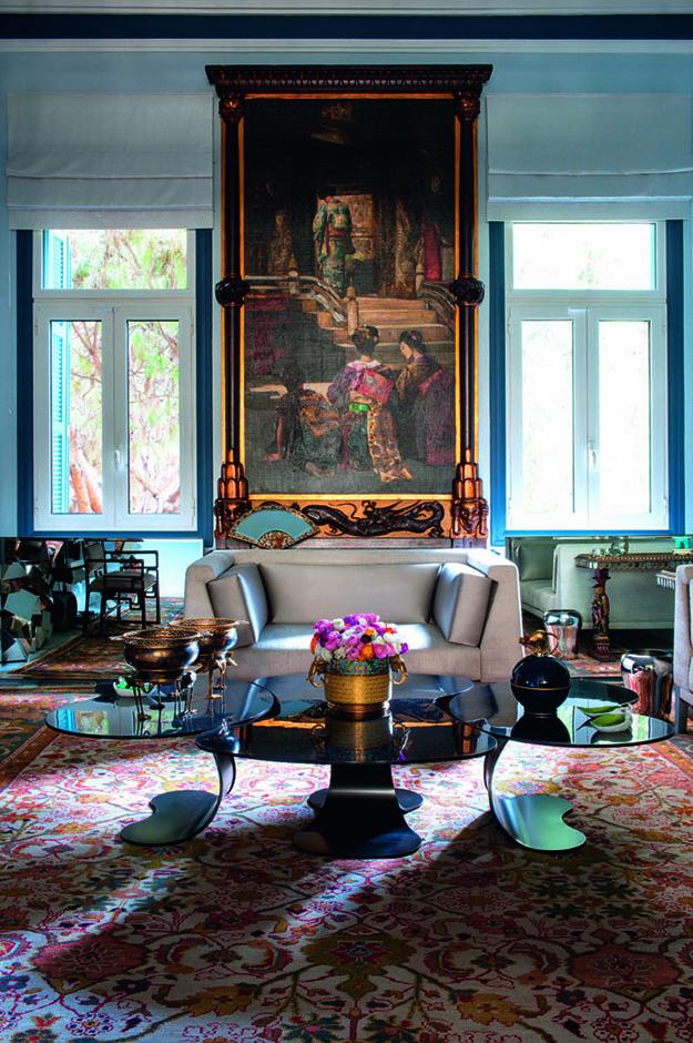 An eclectic modern Beirut apartment