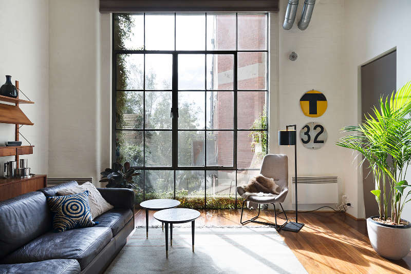 I M In My Beloved Fitzroy Inner City Melbourne And Stalking Warehouse Apartments High Ceilings Beams Large Steel Framed Windows