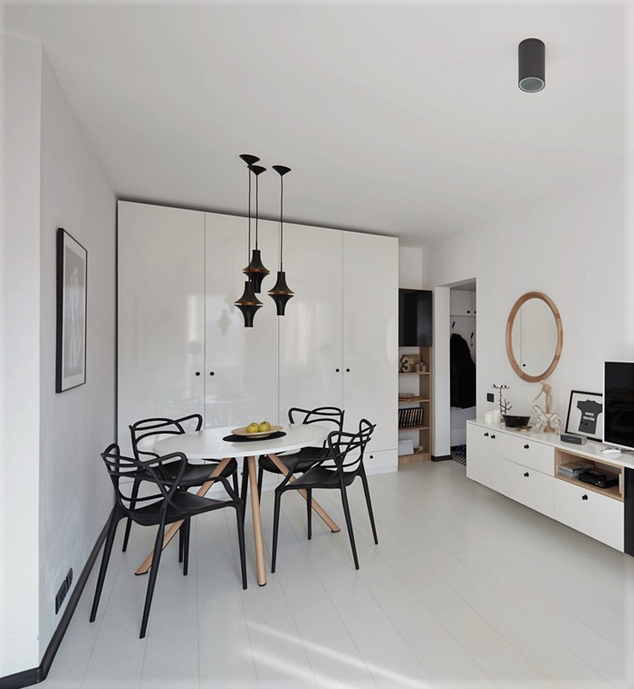 A Small Minimalist Apartment In Bucharest