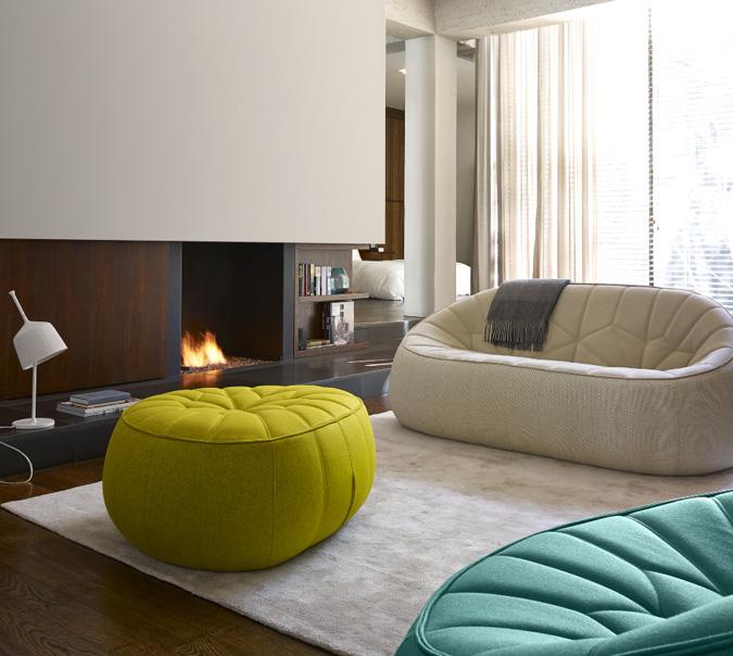 Merveilleux Ligne Roset Ottoman Sofa