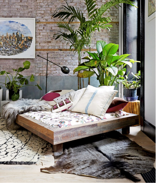 The Boho Chic Bedroom Working From