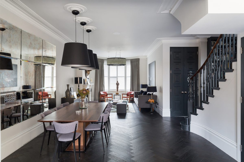 A Renovated Victorian In London