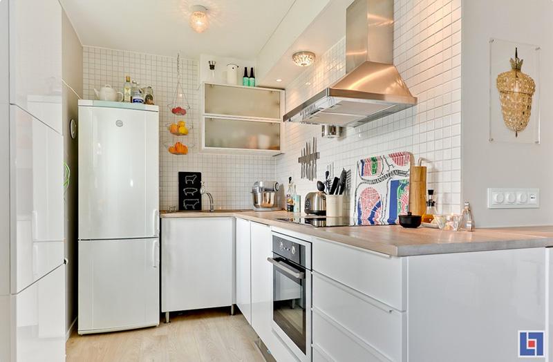 Kitchen For Studio Flat   Designwebi.com