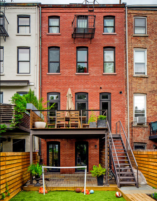 A really cool Brooklyn townhouse
