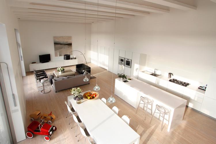 Cocina Con Salon Integrado Good Como Distribuir Un Salon Con Cocina