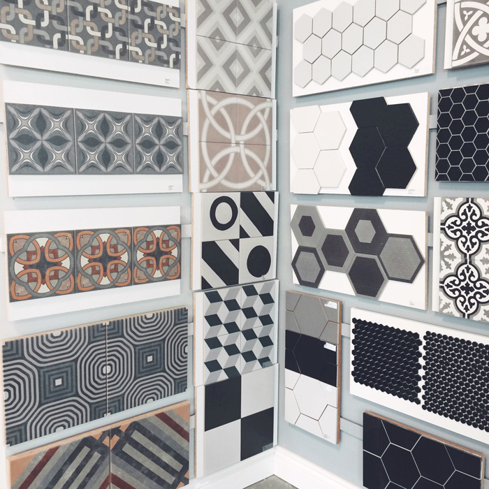 Now I Thought Was Pretty Much Sold On The Black And White Tile In This Post Until Spotted