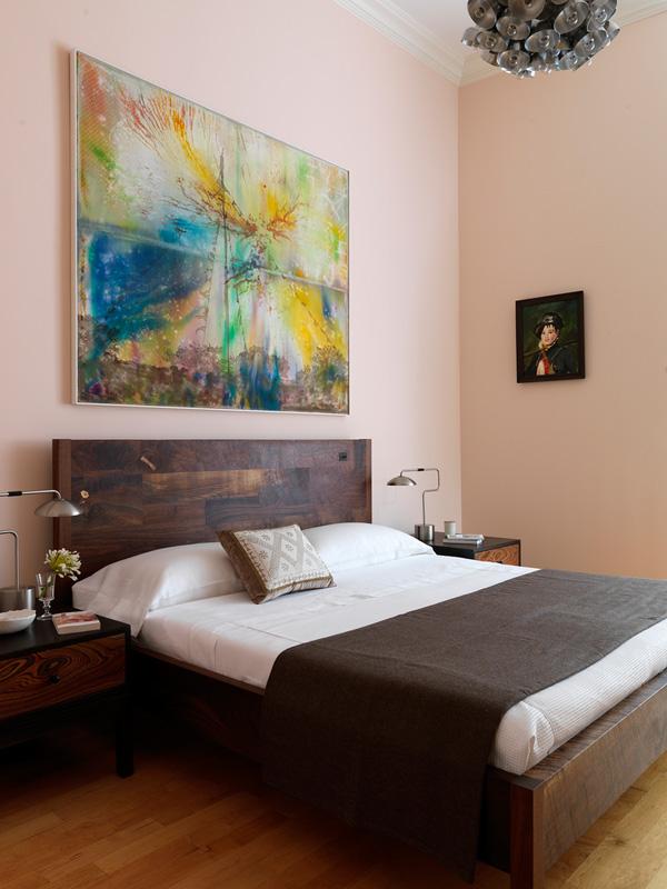 Painted Wood Floors Bedroom