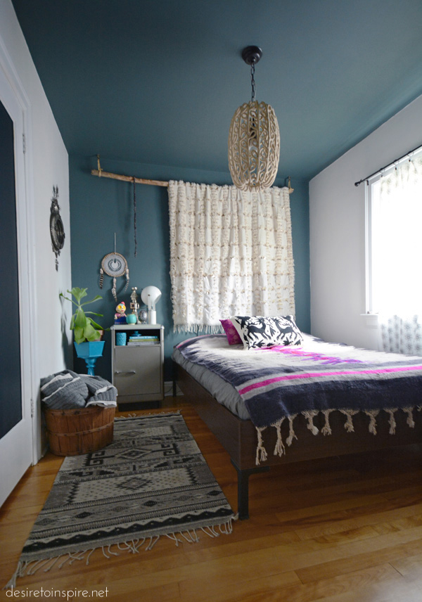 My guest bedroom transformed into a media room