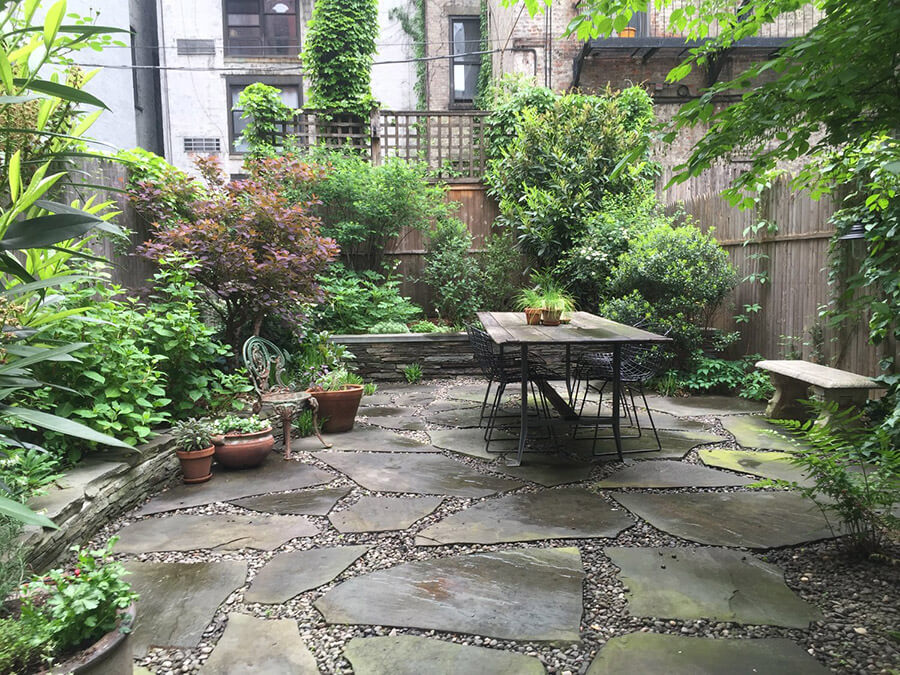Modern landscaping inspiration - Garden patio ideas pictures ...