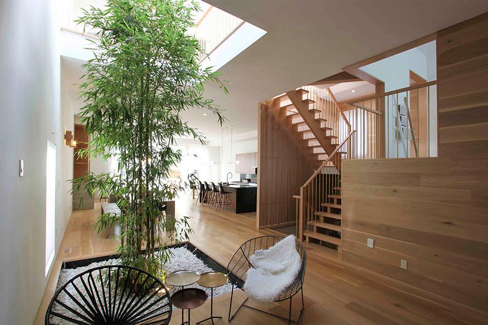 A Toronto Home With An Interior Courtyard