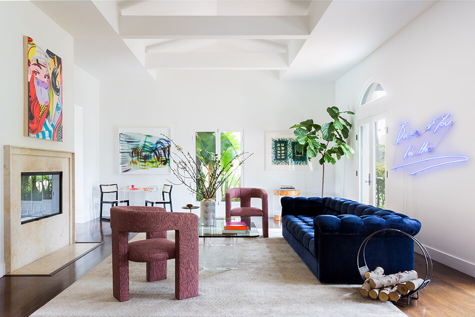 A Funky Beverly Hills Home