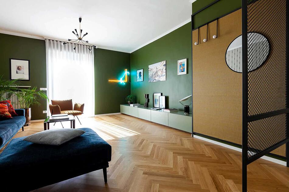 Um condomínio modernizado dos anos 60 na Itália 4