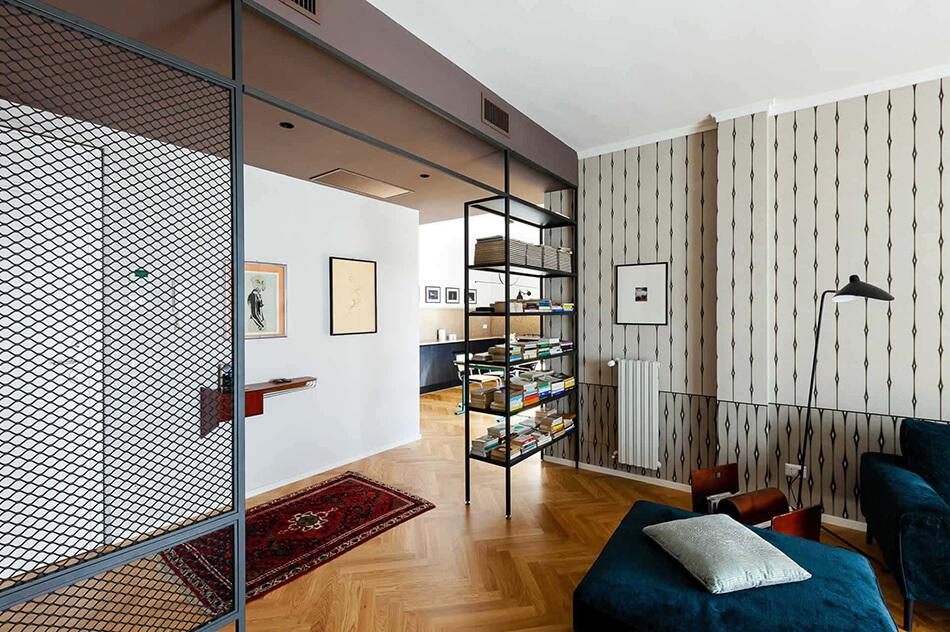 Um condomínio modernizado dos anos 60 na Itália 6