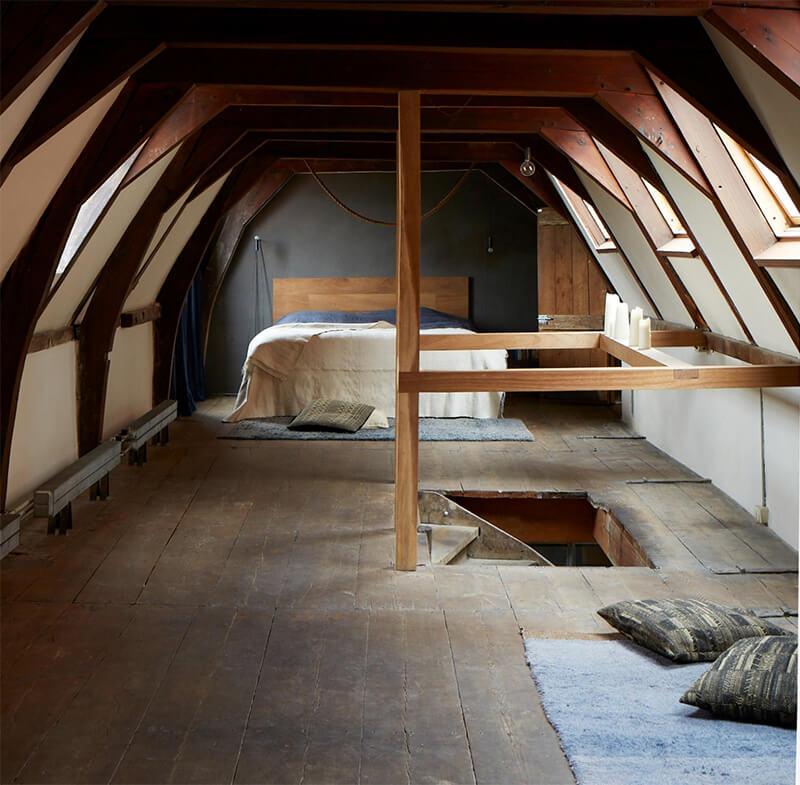 Uma casa de canal em Amsterdã transformada 53