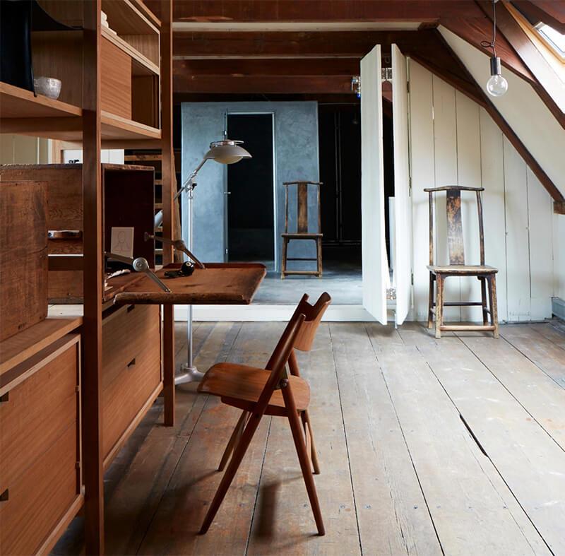 Uma casa de canal em Amsterdã transformada 48