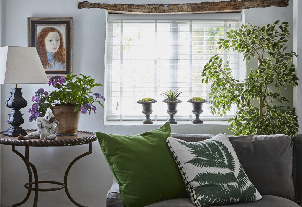 A plant-filled Grade II Listed Cottage