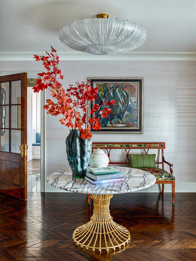 Elegance with colour and pattern