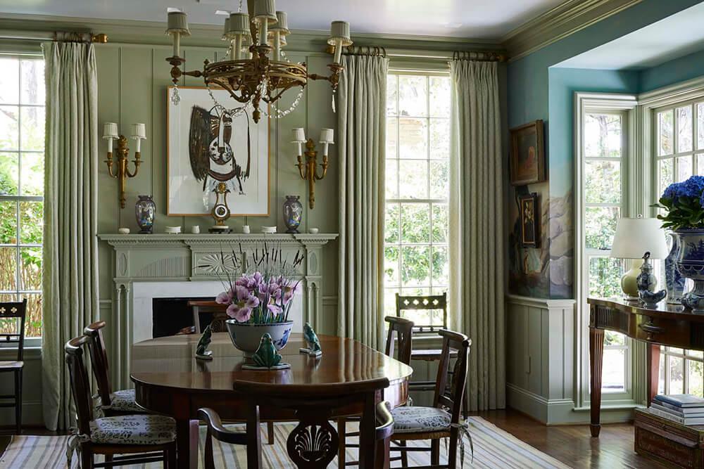 A designer's restored cottage in Dallas